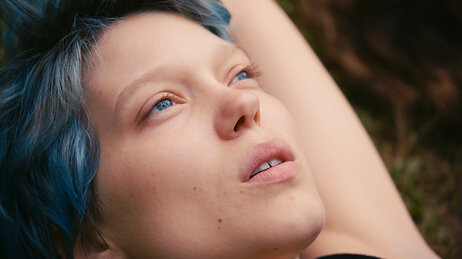 Lea Seydoux plays Emma in the film Blue Is the Warmest Color, directed by Abdellatif Kechiche.