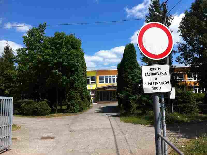 The school in Šarišské Michaľany.
