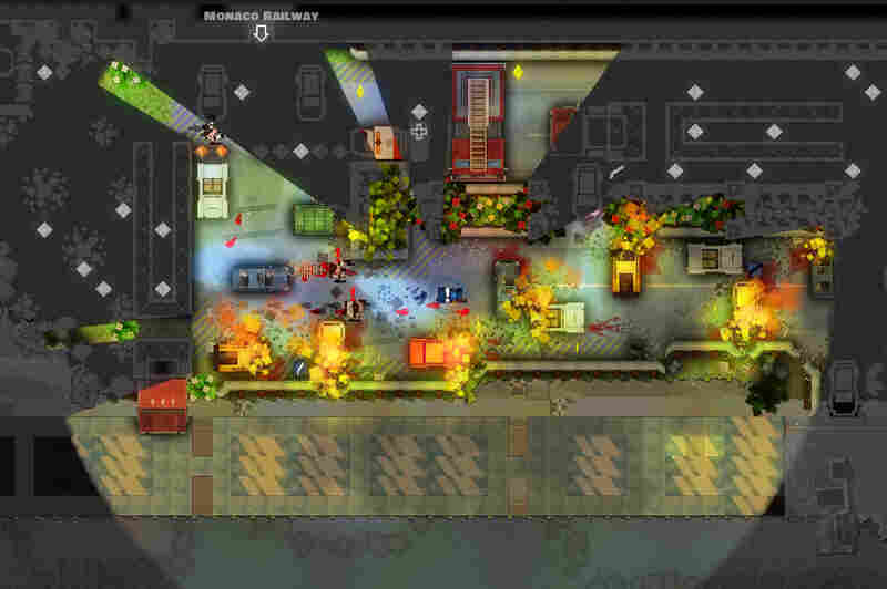 Monaco: What's Mine Is Yours is a colorful, stealth action game that just oozes Ocean's 11.