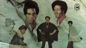 1972's Solid Rock was the first album to feature the Temptations' new additions, Damon Harris and Richard Street. They got top placement on the album cover.