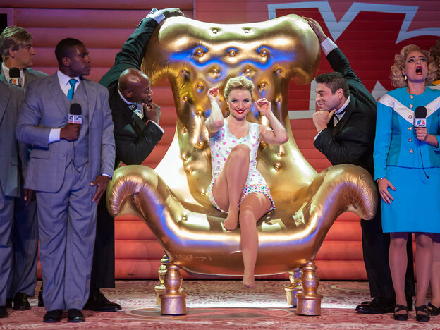 Sarah Joy Miller as Anna Nicole Smith in Anna Nicole by Mark-Anthony Turnage, the final production from the New York City Opera, which closed its doors for good this fall.