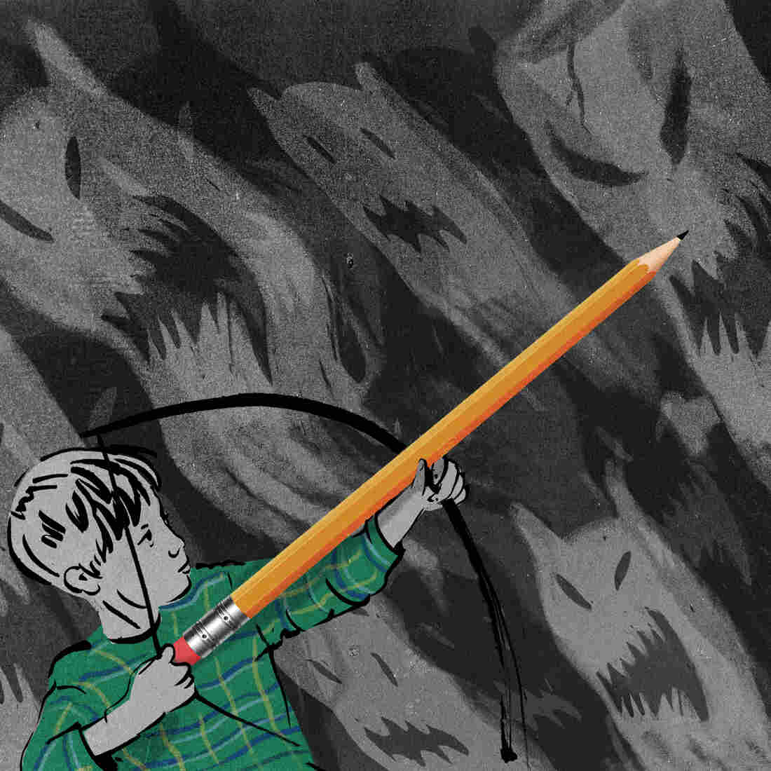 The power of the pencil: Writing about a troubling event in the past can help recast it in a more positive way.