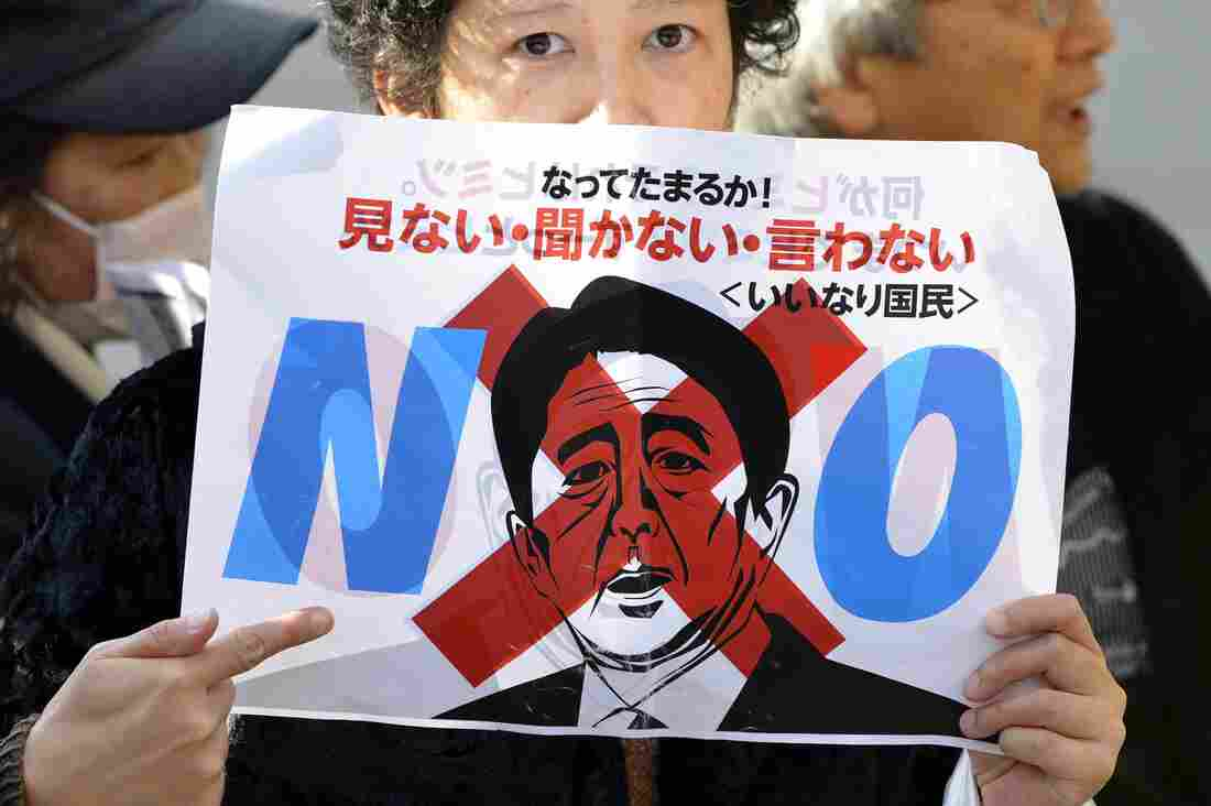 A November demonstration against Japanese Prime Minister Shinzo Abe's Designated Secrets Bill drew thousands of protesters. The Japanese Parliament has since passed the law, under which people convicted of leaking classified information will face five to 10 years in prison.