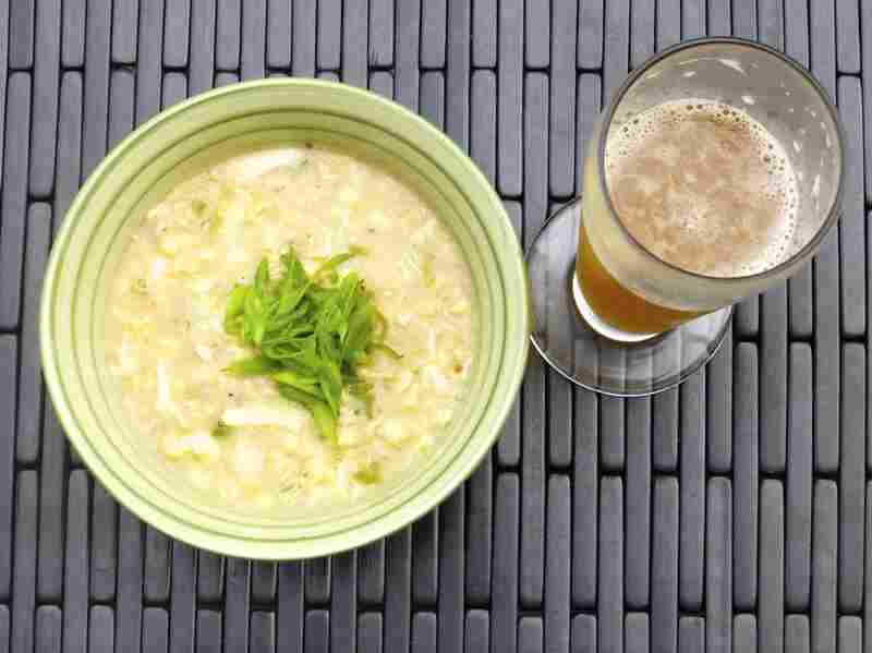 Peter Ogburn's Corn and Crab Chowder with Wheat Beer is adapted from a cookbook by Flying Dog Brewery in Frederick, Md.