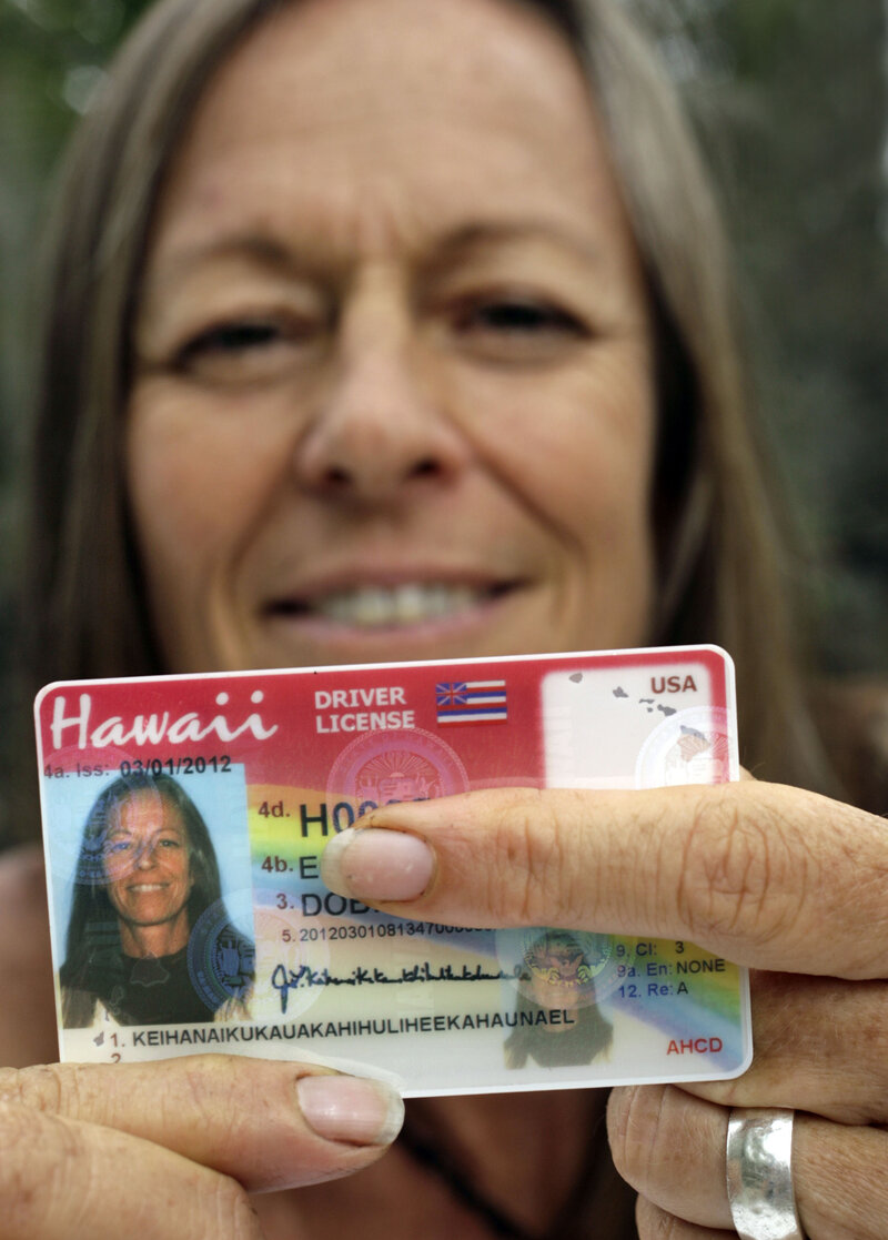 Hawaiian Woman Gets IDs That Fit Her 36-Character Last Name : The
