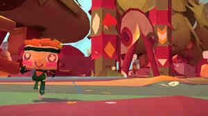 A screenshot from Tearaway.