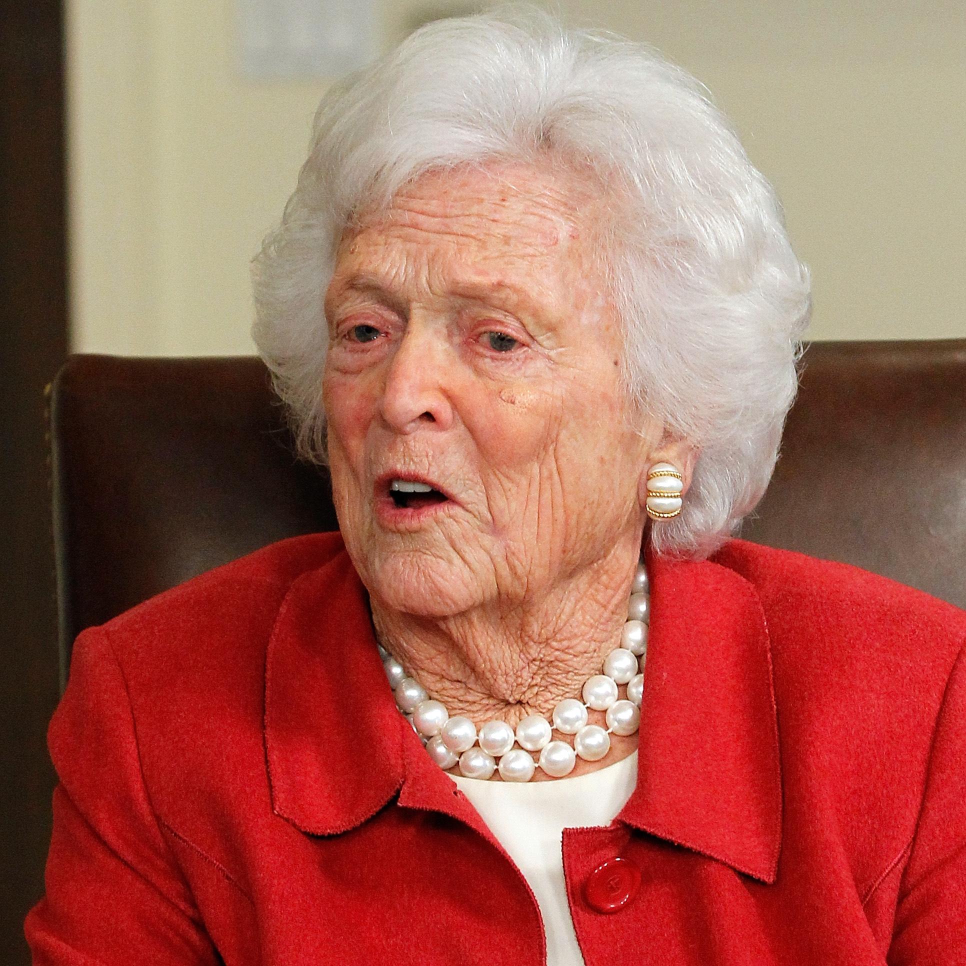 Former First Lady Barbara Bush Is Hospitalized