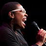 Cecile McLorin Salvant, one of the breakout stars of 2013, performs at the Kennedy Center for NPR's Toast of the Nation.