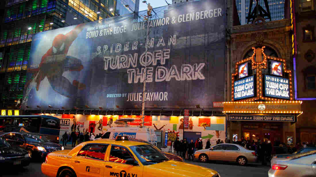 """""""Dark"""" day: On Dec. 20, 2010, actor Christopher Tierney suffered a harrowing fall and severe injuries during a performance of Spider-Man: Turn Off the Dark. The show updated its safety protocols, and Tierney returned to his roles in April 2011."""