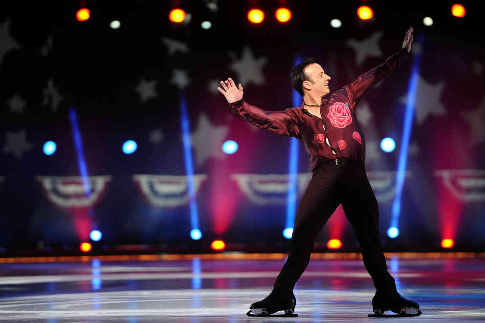 Brian Boitano skates at Izod Center on Dec. 11 in East Rutherford, N.J. Boitano will go to the Winter Olympics in Sochi, Russia, as part of the presidential delegation.
