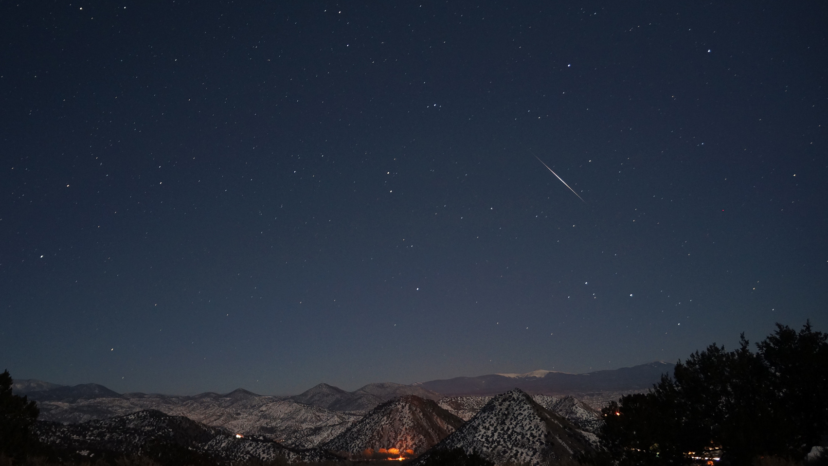 Tonight's Meteor Shower: Live, From Space, It's The Quadrantids