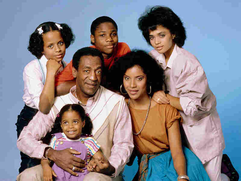 "The Cosby Show starred (clockwise from top left) Tempestt Bledsoe as Vanessa Huxtable, Malcolm-Jamal Warner as Theodore ""Theo"" Huxtable, Lisa Bonet as Denise Huxtable, Phylicia Rashad as Clair Huxtable, Keshia Knight Pulliam as Rudy Huxtable, and Bill Cosby as Dr. Heathcliff ""Cliff"" Huxtable."