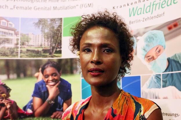The Desert Flower Center, created by Somali model Waris Dirie, opened in Berlin in September. The medical