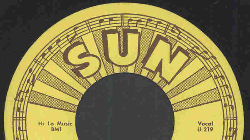 "Label for Warren Smith's ""Ubangi Stomp"" on Sun Records."