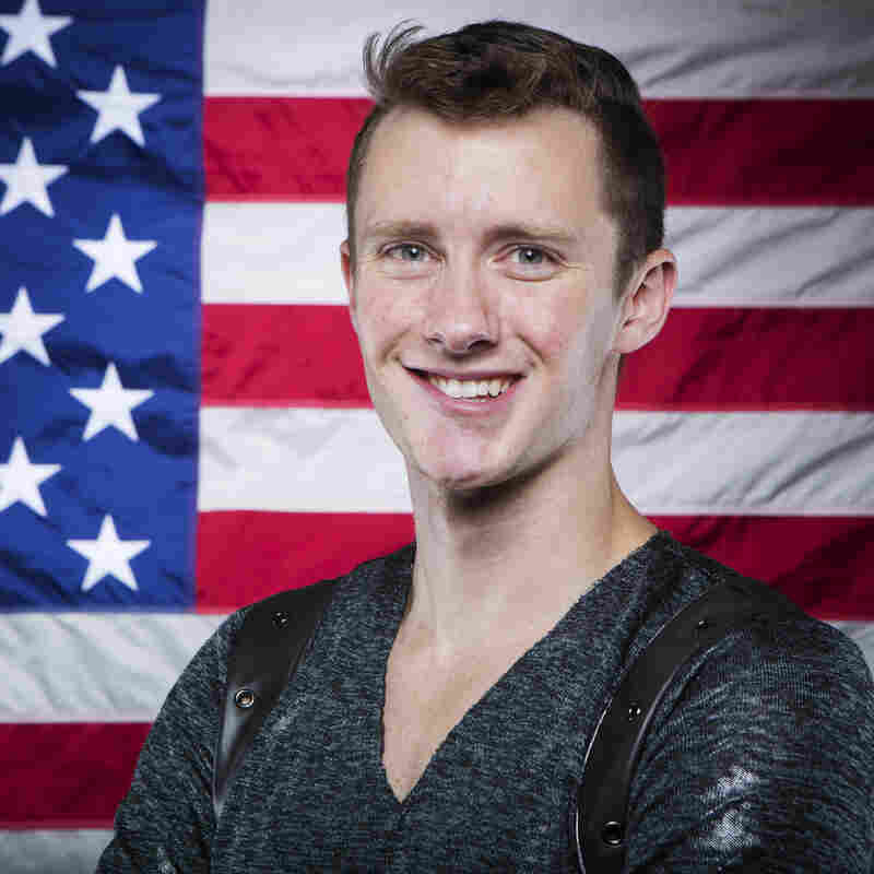 Abbott will compete in the U.S. championships in Boston this month, in the hopes he'll make it on the Olympic team.