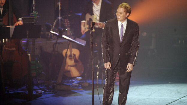 Clay Aiken performs a special one night only concert at the Progress Energy Performing Arts Center in Raleigh, N.C., in March 2010.