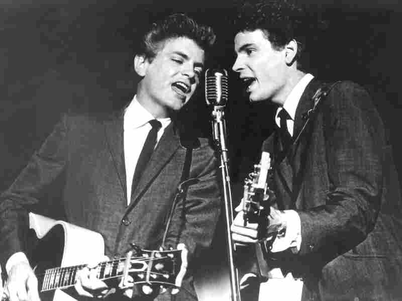 The Everly Brothers, Phil, left, and Phil, perform in 1964.