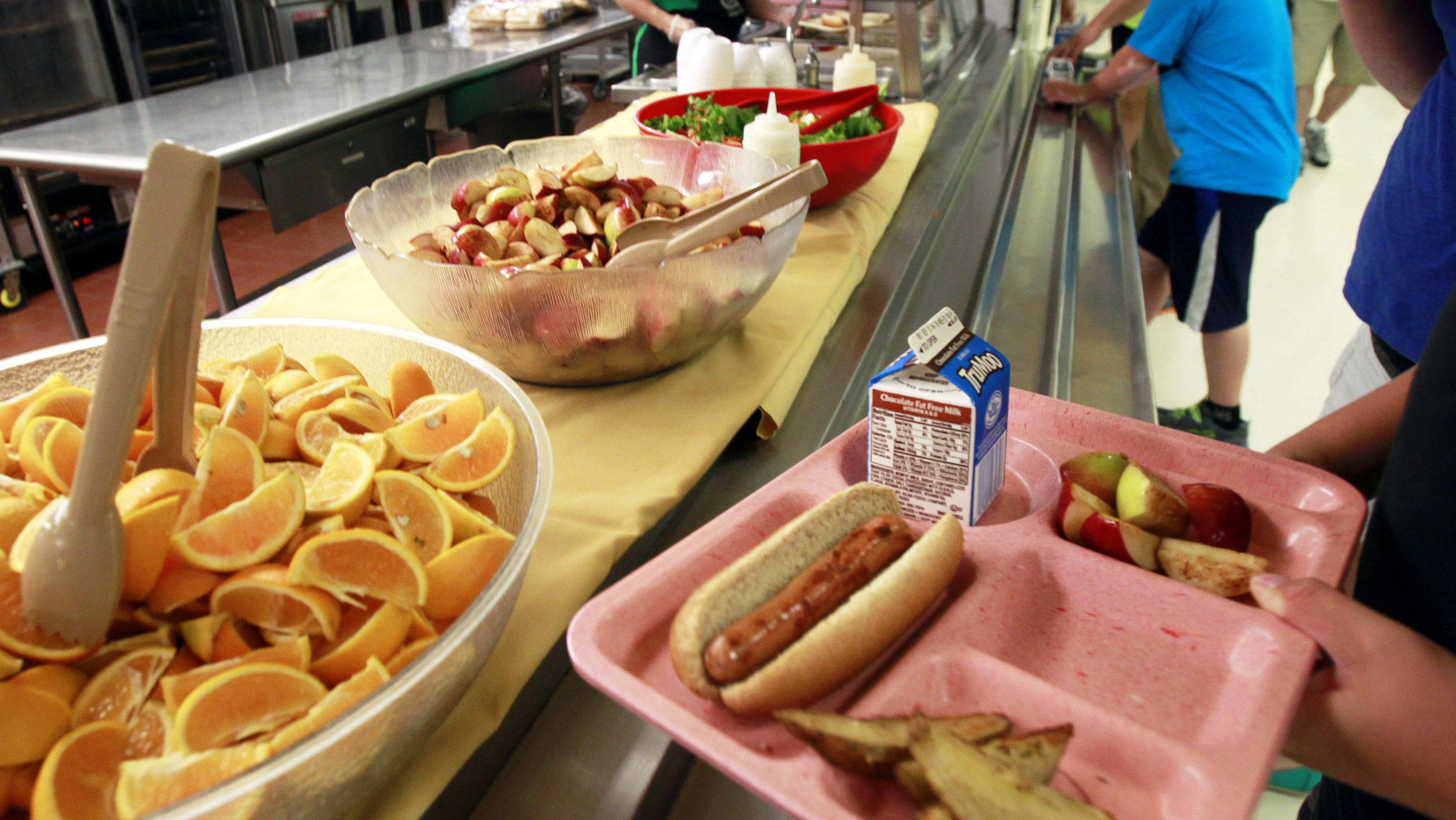 Let Them Eat Sandwiches: USDA Eases School Lunch Restrictions