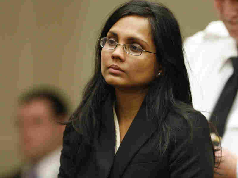 Annie Dookhan, a former chemist, during her arraignment in Brockton, Mass., in January 2013.