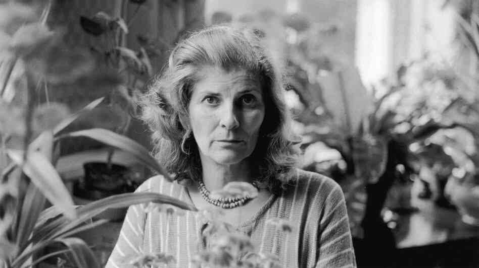 English novelist Elizabeth Jane Howard is pictured in 1978.