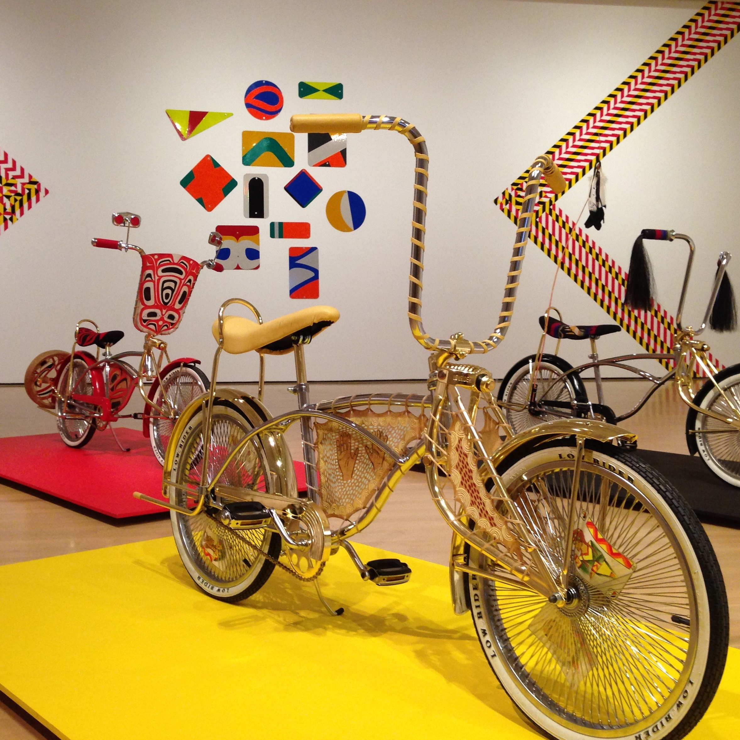 Artist Dylan Miner worked with indigenous youth to make low-rider bicycles designed to demand attention, just as Canada's indigenous communities have been doing recently.