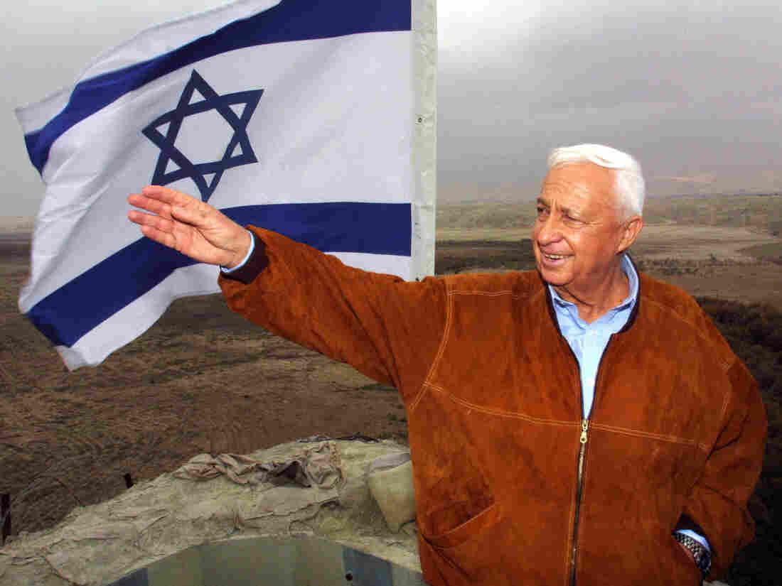 Former Israeli Prime Minister Ariel Sharon in 2001.