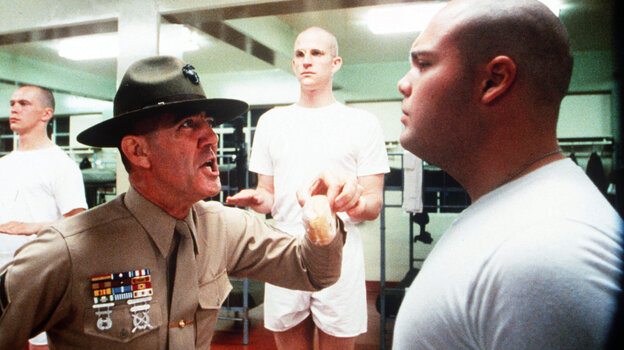 Hollywood has portrayed military leaders as monsters in movies such as 1987's Full Metal Jacket about Marines during the Vietnam War. Army leaders wonder if this kind of toxic leadership is hurting its soldiers.