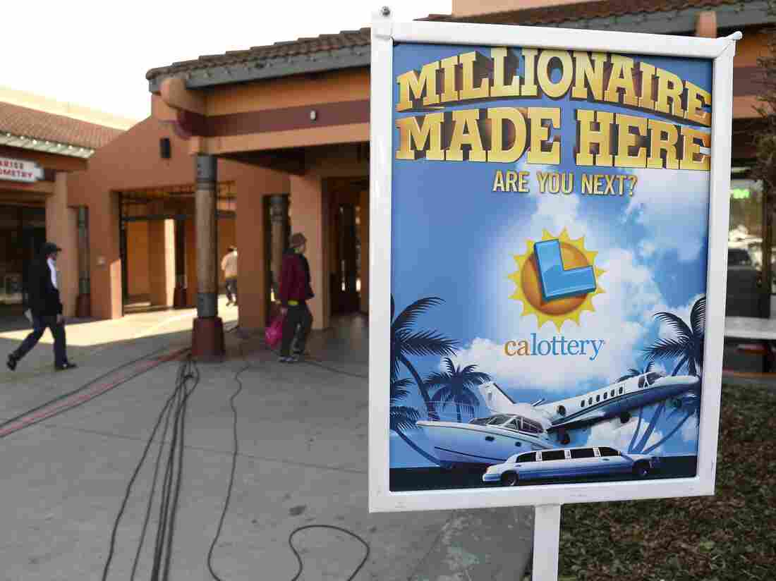 One of two winning tickets in last month's $648 million Mega Millions jackpot was sold here, at Jenny's Gift Shop in San Jose. The guy who bought it didn't realize what he had for nearly two weeks.