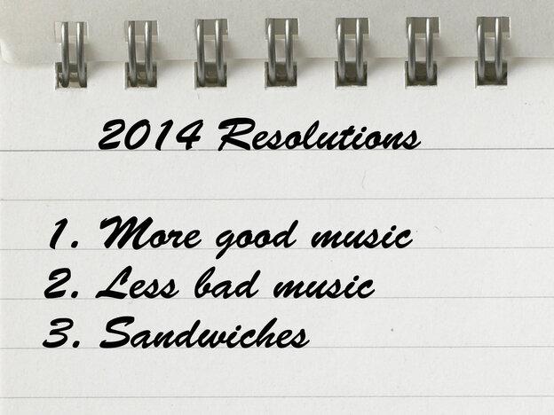 List of 2014 resolutions.