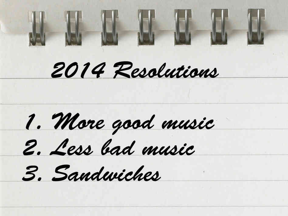 List of 2014 resolutions.
