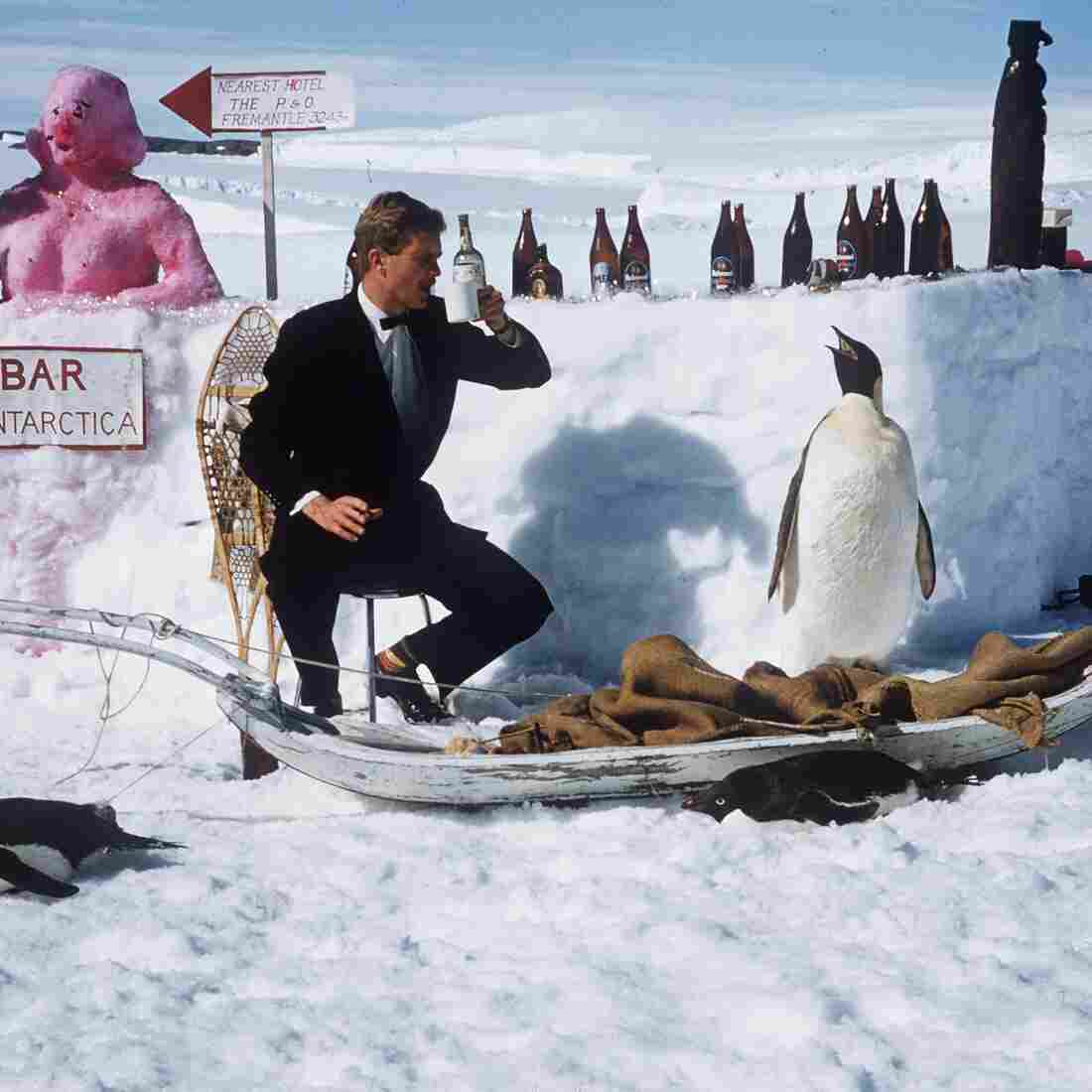 Think You're Cold And Hungry? Try Eating In Antarctica