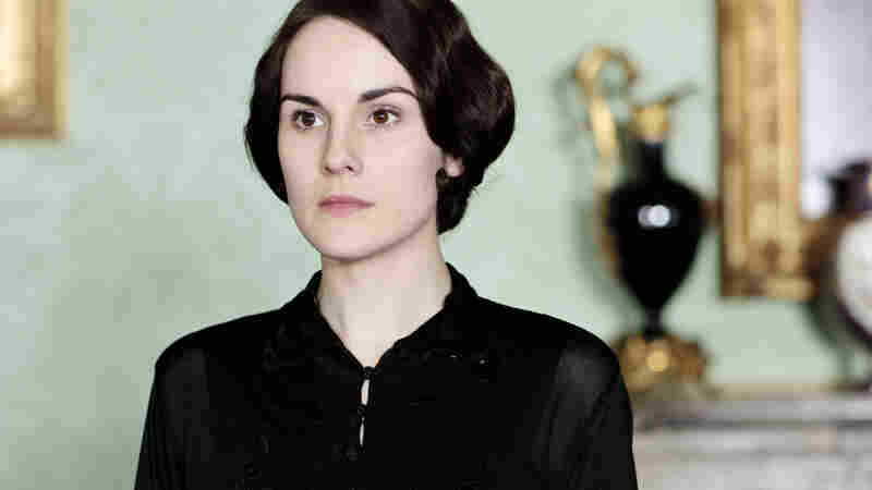 Michelle Dockery's Lady Mary is in deep mourning as Downton Abbey returns for a fourth season on PBS.