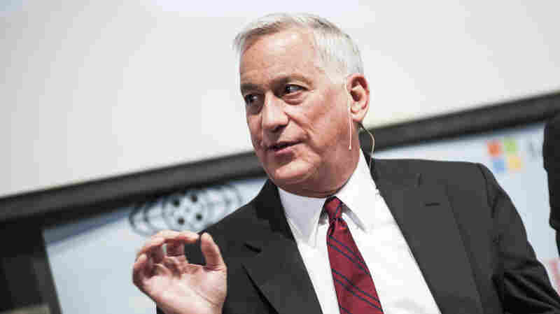 Walter Isaacson speaks during the April 2013 Creativity Conference at the Corcoran Gallery of Art in Washington, D.C.