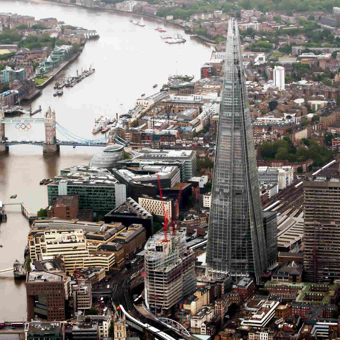 "The Shard, the tallest building in Western Europe at 1,016 feet, was inaugurated in London in 2012. It got its formal name when the builders adopted the term used by critics, who called it a ""shard of glass"" in the city's skyline."