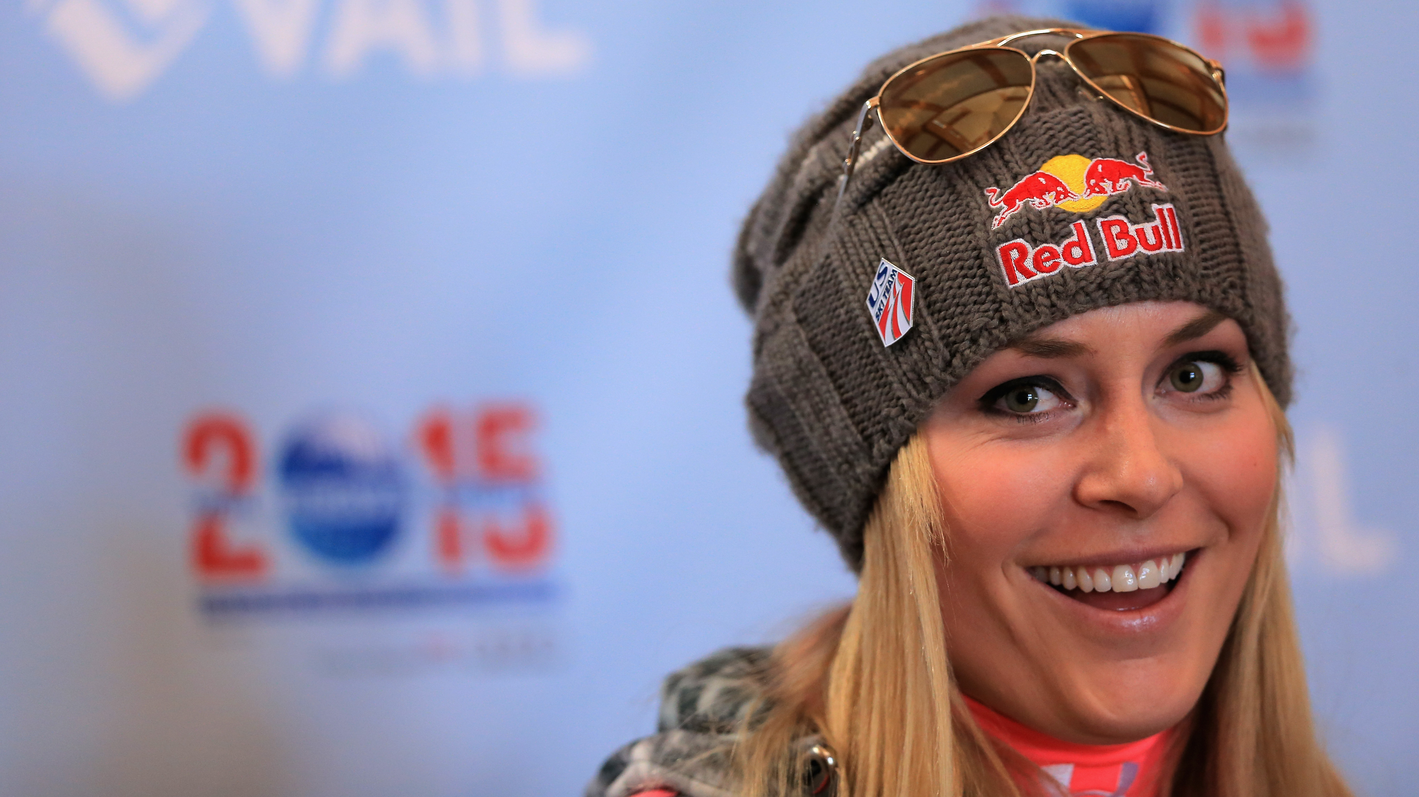 Lindsey Vonn: Lindsey Vonn Is Out, But Some Advertisers May Still Win : NPR