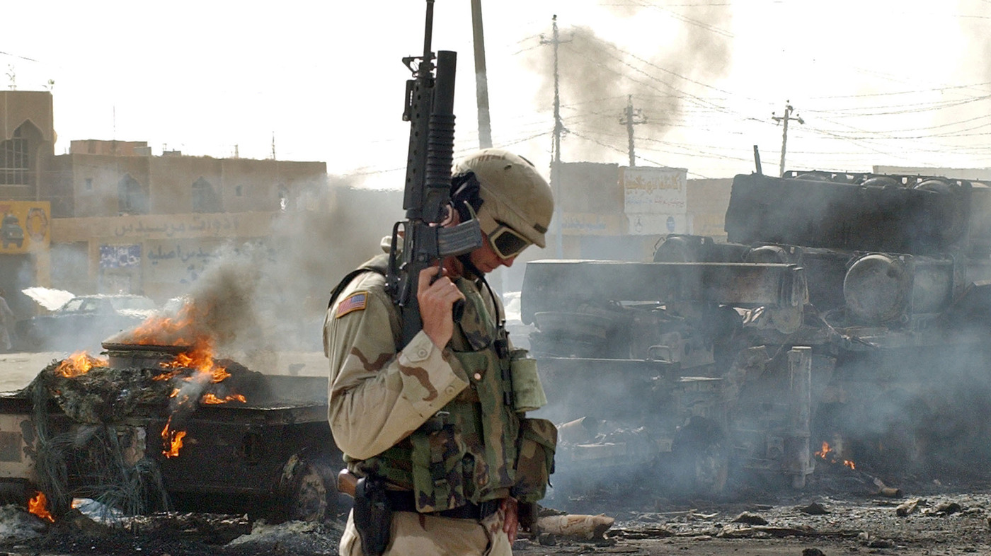 the united states attack on irak in 1 on oct 29, 2003, new york officials reduced the number of people killed at the world trade center in the september 11, 2001, terrorist attacks on the united states by 40 names.