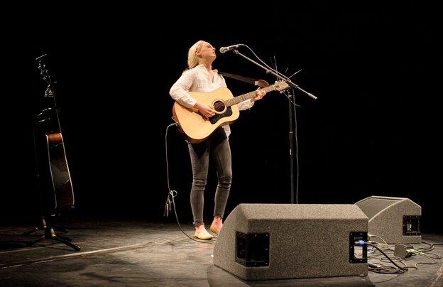 Laura Marling performs in Cambridge, U.K.