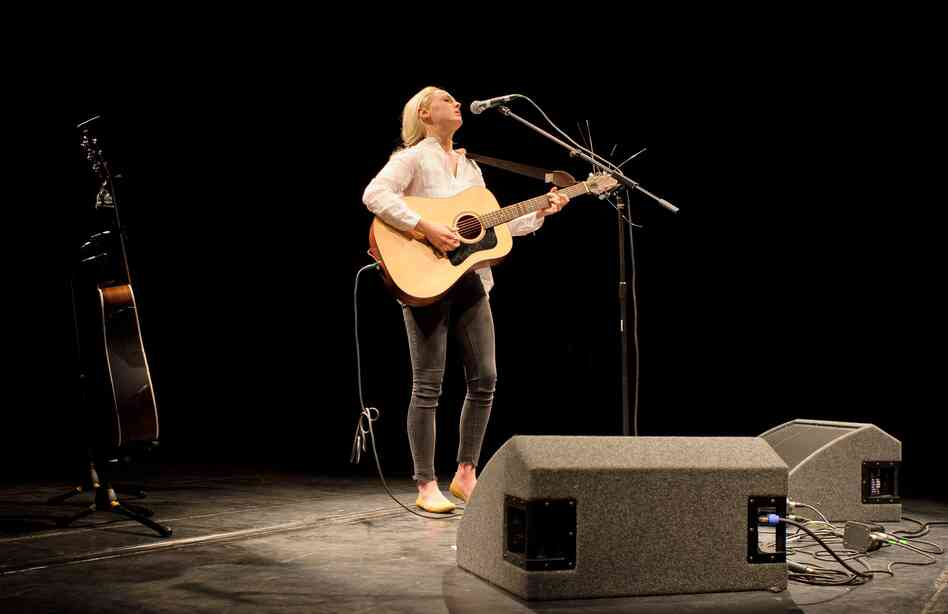Laura Marling performs in Cambridge, U.K.