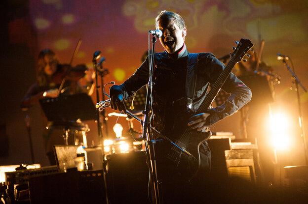 Sigur Ros perform in Brooklyn.