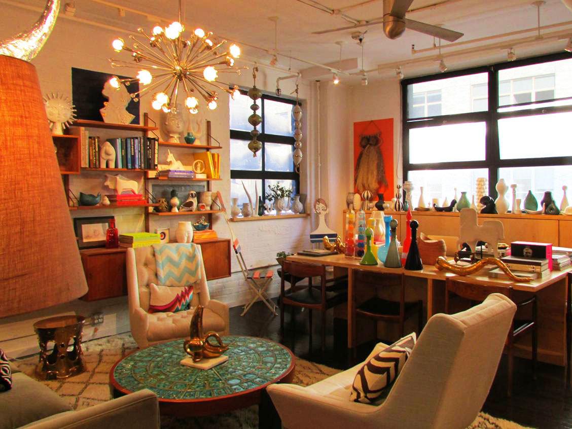A Peek Inside The Dream Factory: Jonathan Adleru0027s Office. (Courtesy Of Eric  Feinstein) ...