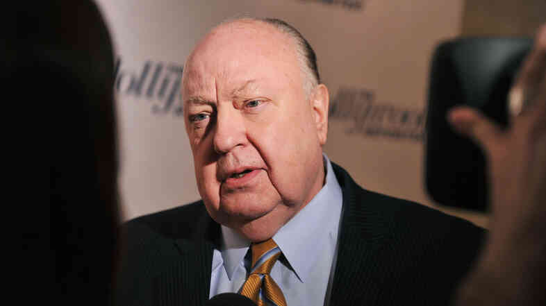 "Fox News Channel chief Roger Ailes attends a 2012 Hollywood Reporter celebration of ""The 35 Most Powerful People in Media"" in New York City."