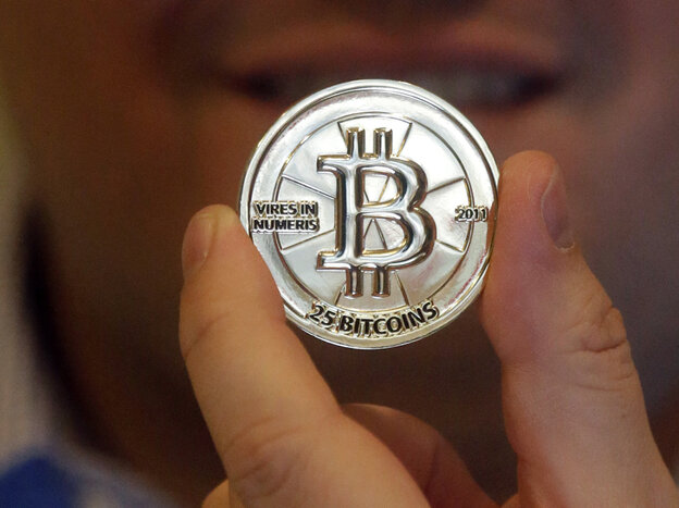 One man produced physical versions of bitcoins (before he realized he was angering the feds). Bitcoin is a virtual currency that has been the subject of a recent Federal Election Commission discussion.