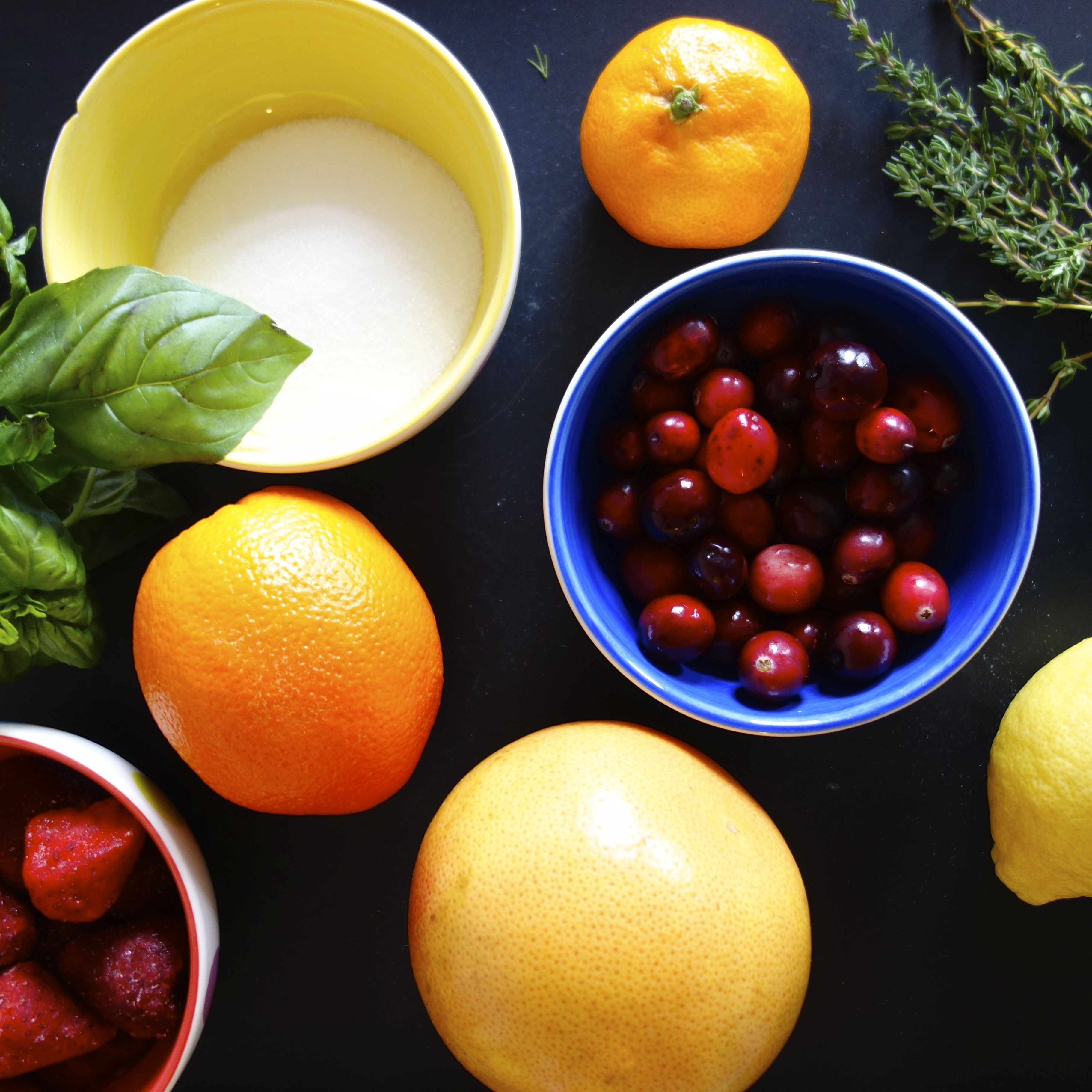 Berry-Citrus Herb Liqueur