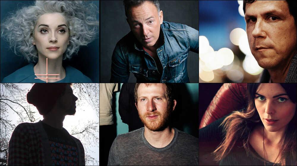 New Year, New Mix: St. Vincent, Bruce Springsteen, Damien Jurado, More