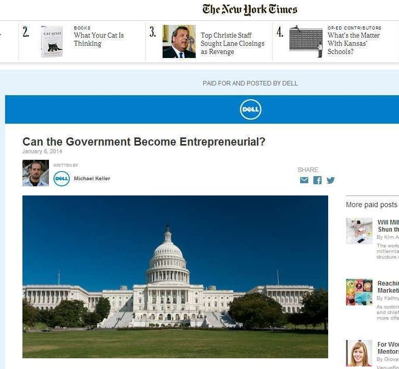 News Or Ad? Online Advertisers Hope You'll Click To Find Out : NPR