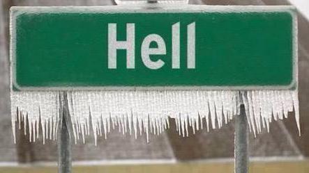 Hell Has Frozen Over, Headline Writers Rejoice