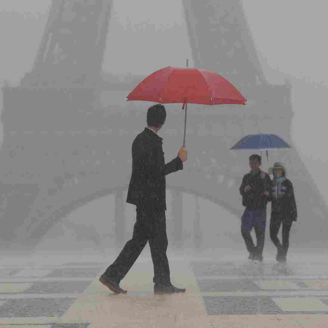 No Rain On His Parade: Parisian Preserves Art Of Umbrella Repair