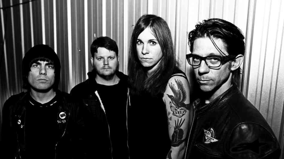 First Listen: Against Me!, 'Transgender Dysphoria Blues' : NPR