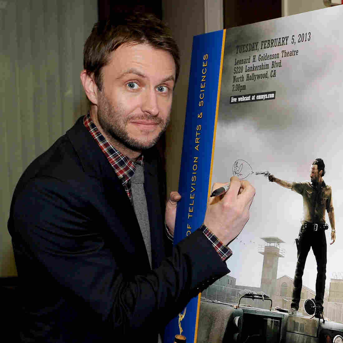 Revenge Of The 'Nerdist': Chris Hardwick Takes Over Your TV