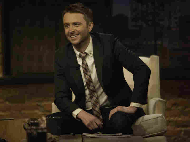 Chris Hardwick was unhappy as the host of a dating show before he embraced his geeky interests and started the Nerdist empire. Now he hosts Talking Dead, shown here, and the new Comedy Central show @midnight.